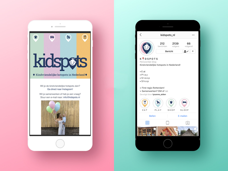 iPhone-Kidspots-social-media