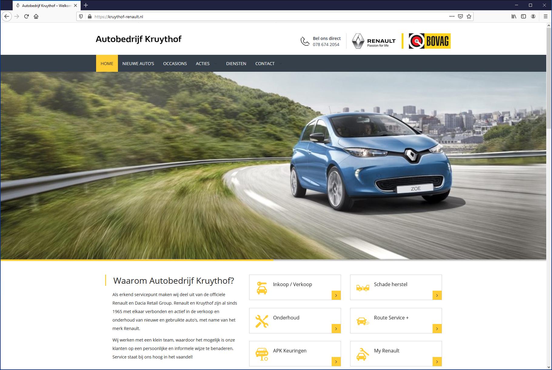 Renault Autobedrijf Kruythof